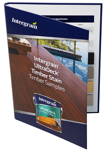 Exterior Timber Stain Samples